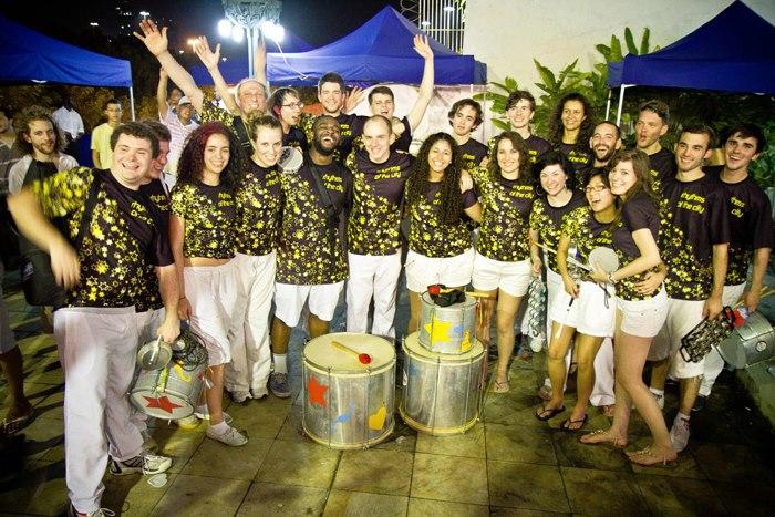 rotc @ viva rio party 14 dec 2012